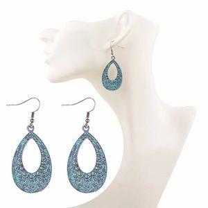 🆕 Tear Drop Boho Metal earrings